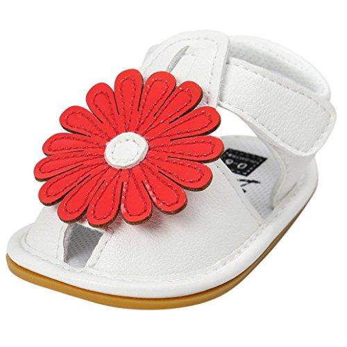 Xinantime , {Chaussures premiers pas pour bébé (garçon) rose rose 12~18 Month Red