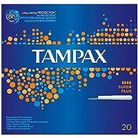 Tampax Applikator Tampons Super Plus (20) - Packung mit 2 preisvergleich bei billige-tabletten.eu