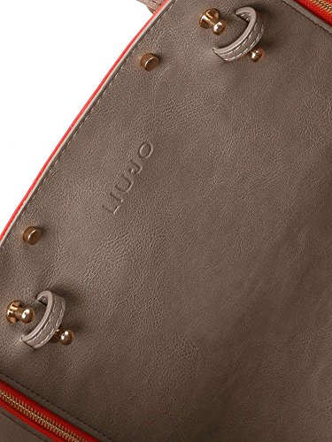 LIU JO AROMIA REVERS SHOPPING BAG N17234E0006 A3557 CORAL ROCK/MALTO