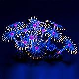Uniclif, leuchtende, künstliche Korallen, Dekoration fürs Aquarium, Orange