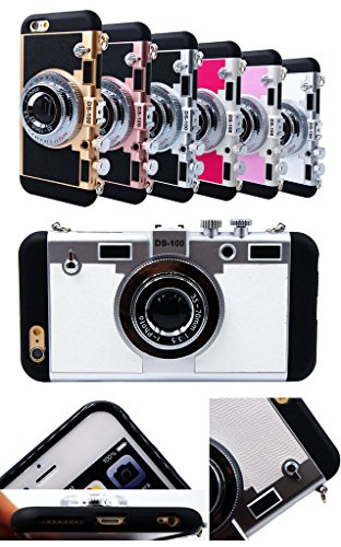 iPhone SE Housse et étuis Case,3D Style de Camera Phone Housse pour Apple iphone5/5s,La modélisation de la caméra stéréo couvrir les cas pour iPhone SE/iphone 5s/iphone 5 - Camouflage Green Rose