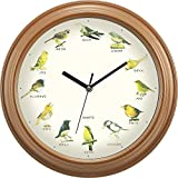 Kakusee wild bird wall clock from Japan 796210 - Best Reviews Guide