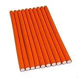 Wendy capelli 10pz 24,1cm Twist Flex Rods Foam Flexi Rods dormire Bouncy riccioli capelli rulli arancione per dormire