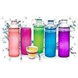 Sistema SI840 Trinkflasche Trio 700ml, sortiert (Farbe zufällig, 1 Stück)