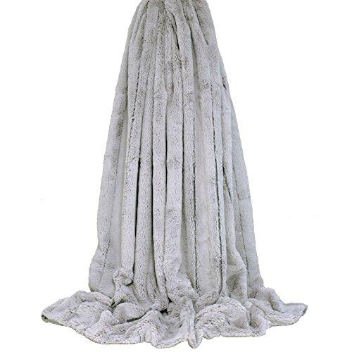 Riva Home - Manta de pelo sintético modelo Empress (130 x 180cm)...