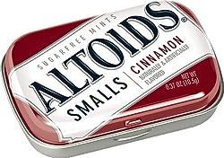 Altoids Small Cinnamon Sugar free Mints 10.5 Grams