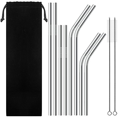 set-of-8-stainless-steel-straws-for-30oz-20oz-tumblers-cups-mugs-senhai-metal-drinking-straw-with-cl