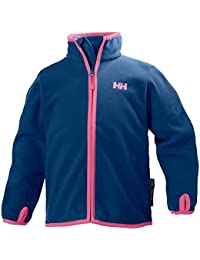 Helly Hansen Boy's K Microfleece Full Zip Jacket