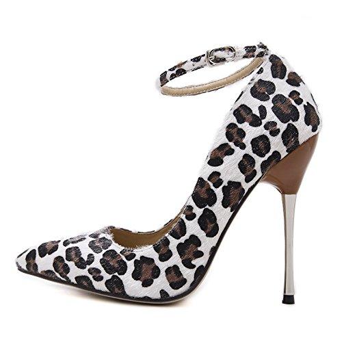 Schuhe Leopard Jahreszeiten Gs~ly Mit Tages Hingewiesen Wies Einzelne Hohen Der Mutter nbsp;leopard Absätzen Geschenk Darauf Vier Brown
