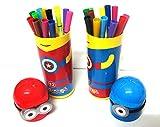 Art box new MINION design box sketch Pen...