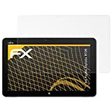atFolix Panzerfolie kompatibel mit Fujitsu Stylistic R726 Schutzfolie, entspiegelnde & stoßdämpfende FX Folie (2X)