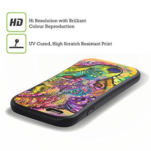 Ufficiale Dean Russo Falco Natura Selvaggia 3 Case Ibrida per Apple iPhone 7 Plus / 8 Plus Volpe