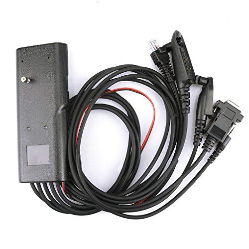 Provide The Best 5 in 1 Programmierkabel für Motorola GP300 GP88 GP340 GP328 Plus-GP2000 GP3188 CP150 CB Zweiwegradio GM300 Mobilfunk Gp300 Gtx Radius