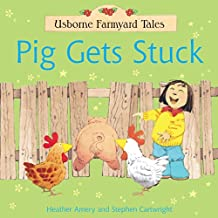 Pig Gets Stuck: For tablet devices (Usborne Farmyard Tales)