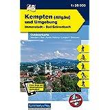 K &F Deutschland Outdoorkarte 46 Kempten (Allgäu) und Umgebung 1 : 35 000: Immenstadt - Bad Grönenbach (Kümmerly+Frey Outdoorkarten Deutschland)