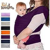 Fular portabebés elástico para transportar a tú bebé – Pañuelo portabebé de algodón y lycra – Porta bebé para hombre y mujer en ocho colores