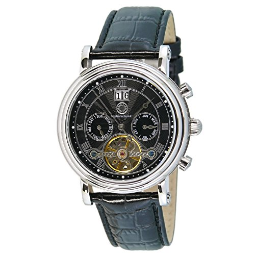 Constantin Durmont Gents Watch XL Analogue Automatic Leather Salinas CD Sali-At-Lt-Stst-BK