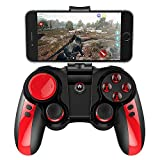 DZYXSB Bluetooth Wireless Gamepad Game Controller für iOS Android Smartphone Windows PC mit Smartphone Halterung