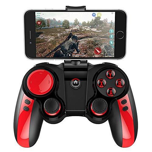 DZYXSB Bluetooth Wireless Gamepad Game Controller für iOS Android Smartphone Windows PC mit Smartphone Halterung (Gta 360 Xbox Der Spiele)