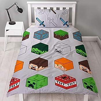 MINECRAFT Bettwäsche Kinderbettwäsche Jugendbettwäsche