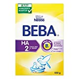 BEBA HA 2 Hypoallergene Folgenahrung, 6er Pack (6 x 550 g)
