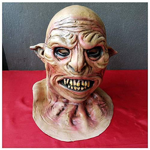 YaPin Wolf Monster Maske Cos Variation Mann Halloween Horror Latex Kopf Teufel Parodie Ghost Supplies (Maske Halloween Wolf Uk)