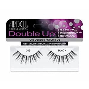 (3 Pack) ARDELL Double Up Lashes - Black 206