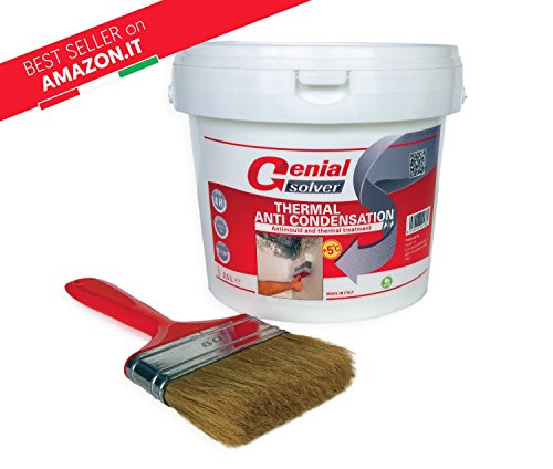 Price comparison product image Anti Mould Thermal Paint - THERMAL ANTI CONDENSATION - 2, 50 L + Brush 80mm