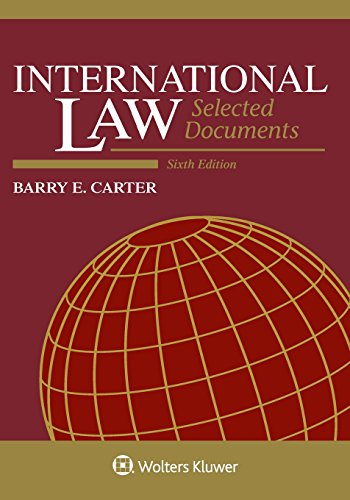 International Law: Selected Documents, 2013 - 2014 (Supplements)