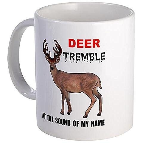 CafePress - DEER TREMBLE Mug - Unique Coffee Mug, Coffee Cup, Tea Cup