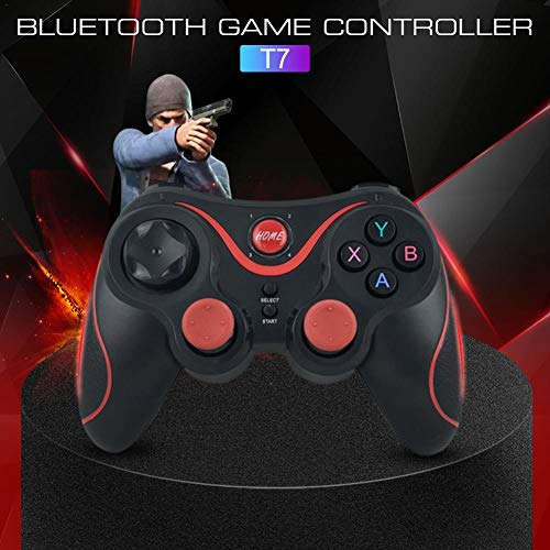 MeterMall Cooles Gamepad T7 Blautooth Gamecontroller Smart Wireless Joystick Gamepad für Android/IOS/Win 7/8/10 System Blautooth Verbindung PS3