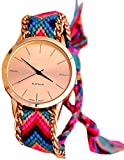 True Colors fabric belt Analog Watch - F...