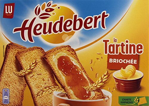 Heudebert La Tartine Briochée Pain Grillé Brioché 320 g