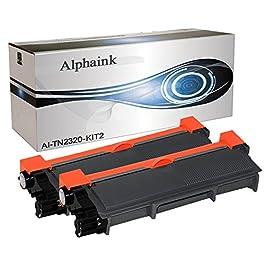 2 Toner Alphaink Compatibile con Brother TN-2320 versione da 2600 copie per stampanti Brother DCP-L2500 2520 2540 2560…