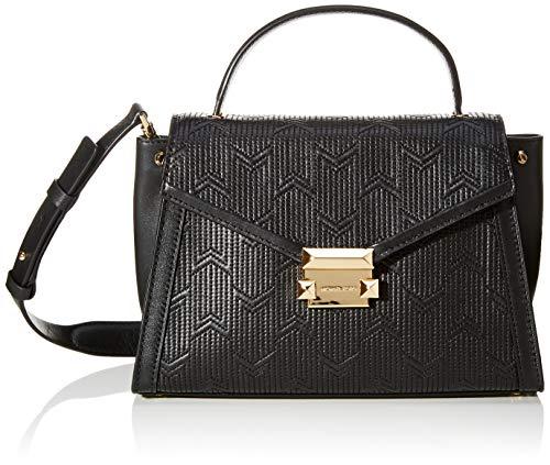 Michael Kors Damen Whitney Medium Handbag Tote, Schwarz (Black), 12x18x26.5 cm