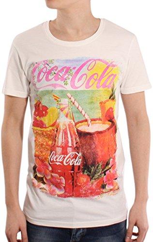 Solid -  T-shirt - Maniche corte - Uomo bianco avorio X-Large