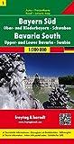 Bayern Süd - Ober- und Niederbayern - Schwaben, Autokarte 1:200.000, freytag & berndt Auto + Freizeitkarten - Freytag-Berndt und Artaria KG