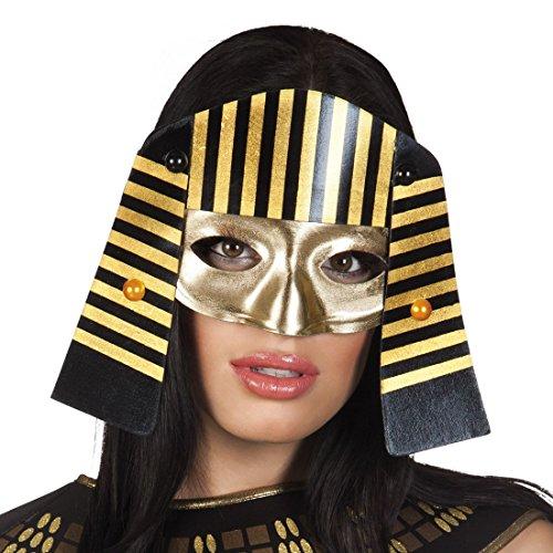 mzubehör Maske Pharao Lady, Mehrfarbig (Lady Käfer Kostüm)