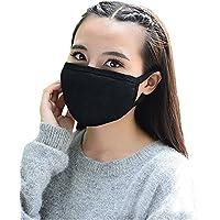 3pcs unisex invierno algodón cara boca máscara de máscaras tapa anti polvo con micrófono