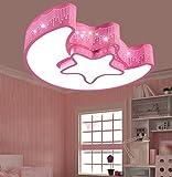 Deckenleuchten, Kinderzimmer Lichter Schlafzimmer Lichter LED Deckenleuchte Einfache moderne Mädchen Junge Creative Zimmer Fernbedienung Lampen 46 * 35 * 12cm ( Farbe : #1 )