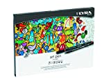 Lyra Hi-Quality Art Pen - Estuche metálico 20 rotuladores artísticos acuarelables de colores,...