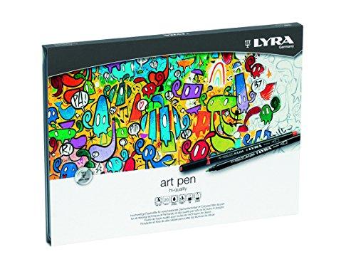 lyra-hi-quality-art-pen-estuche-metalico-20-rotuladores-artisticos-acuarelables-de-colores-efectos-d