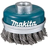 Makita D-24153 - Grata recta ondulada de acero trenzado 60mm