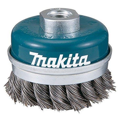 Makita d-29290-Drahtbürste 100mm geflochtene INSERCION M14mit gerader Form Cup Wellenschliff aus 0,5mm Cup Form
