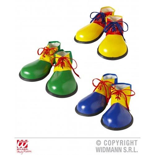 Widmann s.r.l. Clown-Schuhe Erwachsen YELLOW (Clown Schuhe Für Erwachsene Kostüme)