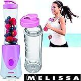 Melissa 16180114 Standmixer mit Trinkbecher und Deckel, Rosa