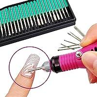 Nulala 30 Unids Eléctrico Profesional Nail Art Máquina Eléctrica Cabezales de Molienda de Piel Muerta Esmalte de Uñas Herramienta para el Salón de Arte Nail