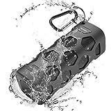 Enceinte Bluetooth Portable 20W, Haut-Parleur Bluetooth Sans Fil, Basse Pure, Dual-pilote, Waterproof, Définition Stéréo, Mains Libres Téléphone, Built-in Mic, 24 Heures de Temps de Jeu pour Partie, Piscine, Camping, Voyage