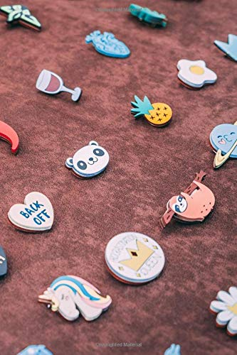Antiques & Collectibles: Buttons & Pins Organizer Plannner 2019 Daily Weekly Monthly Calendar