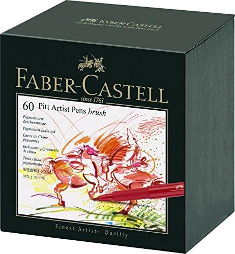 faber-castell-167150-estuche-estudio-con-60-rotuladores